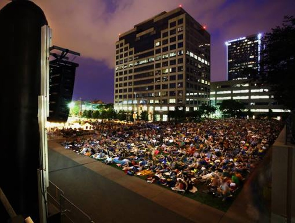 Under the Stars on the Square Kansas City Missouri United States
