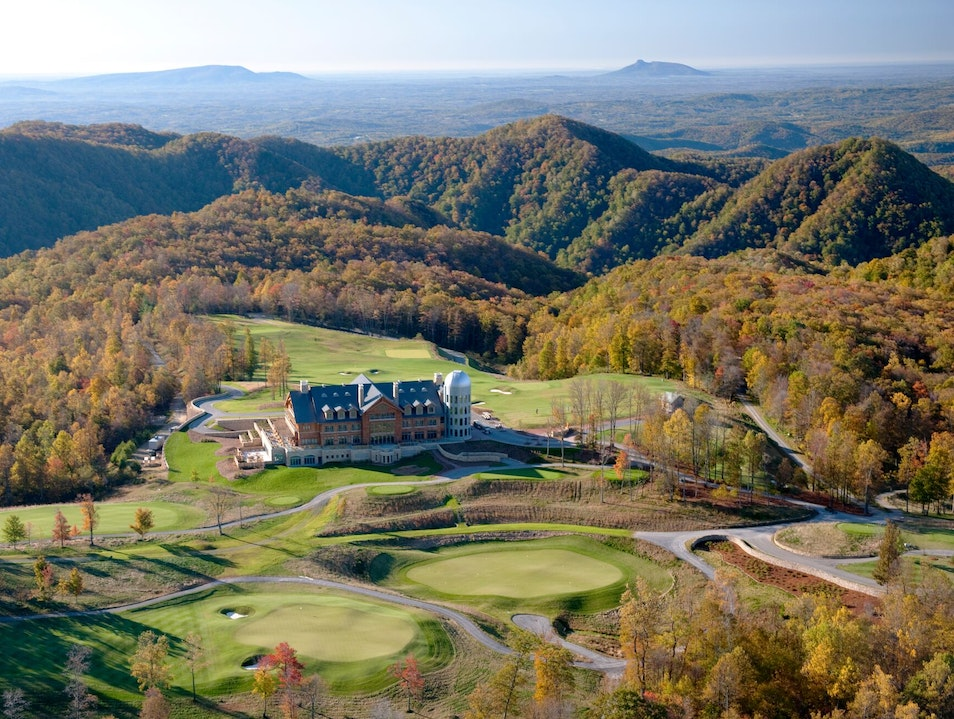 Primland Resort Meadows of Dan Virginia United States