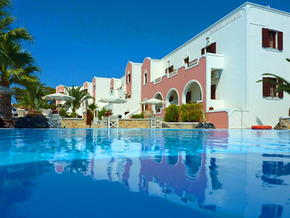 Greek hospitality and one heck of a swimming pool