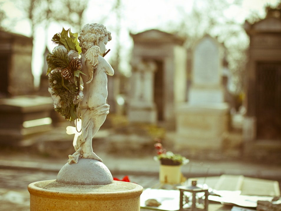 The Resting Place of Jim Morrison