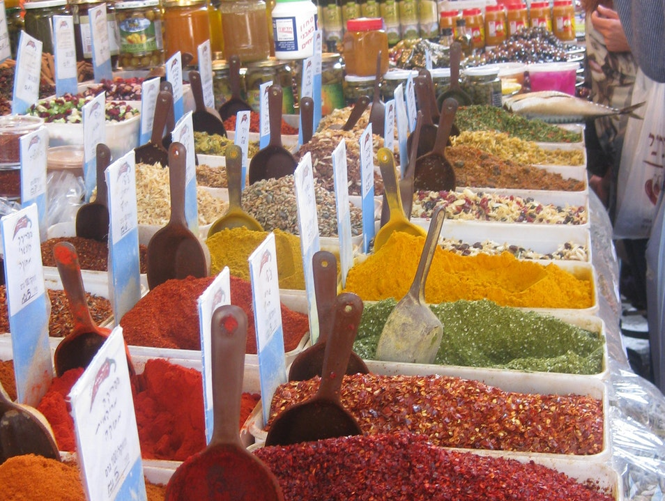 One of the best spice markets ever. Tel Aviv  Israel