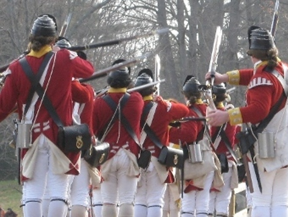 The British Are Coming Concord Massachusetts United States