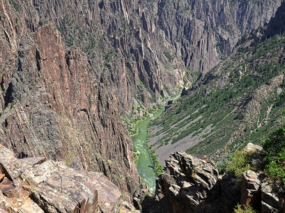 Black Canyon of the Gunnison Crawford Colorado United States