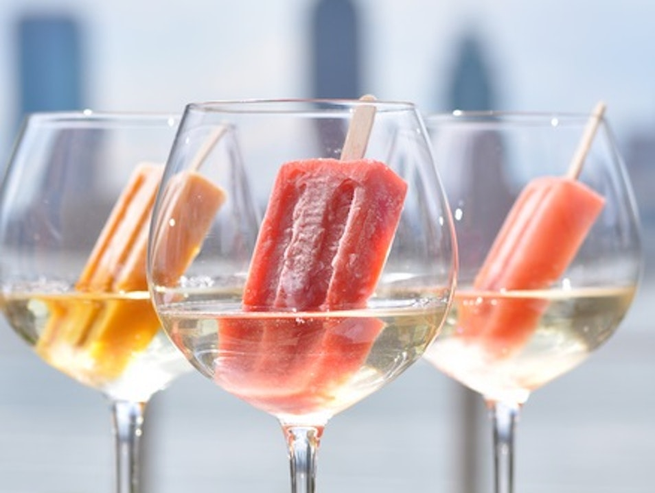 Mixology Fusion: Prosecco & Ice Pops at the Conrad New York New York New York United States