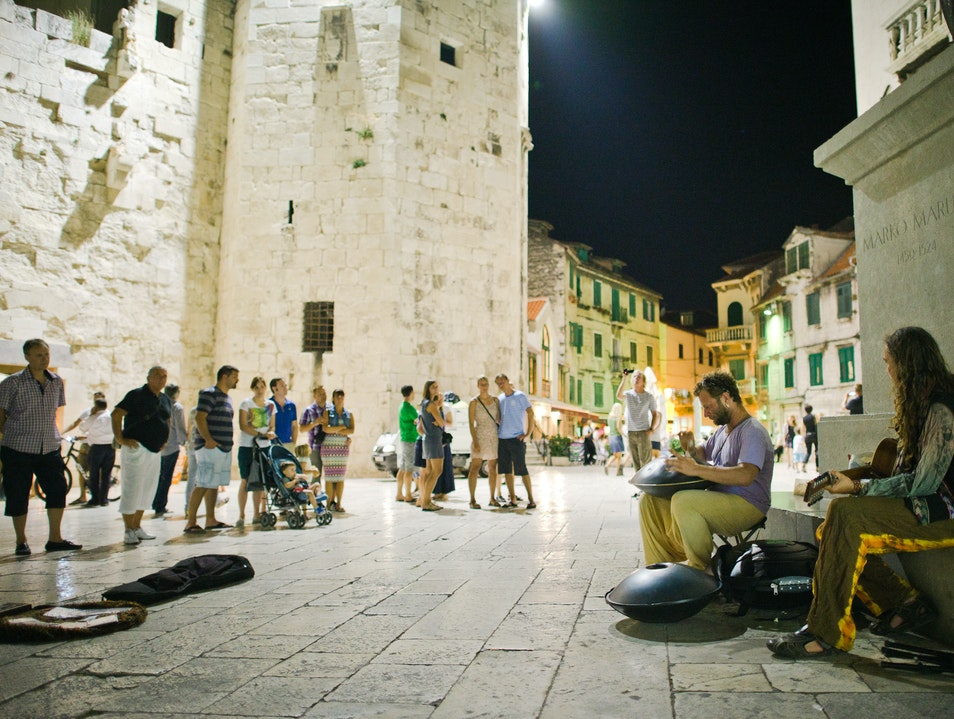 Evening Entertainment Split  Croatia
