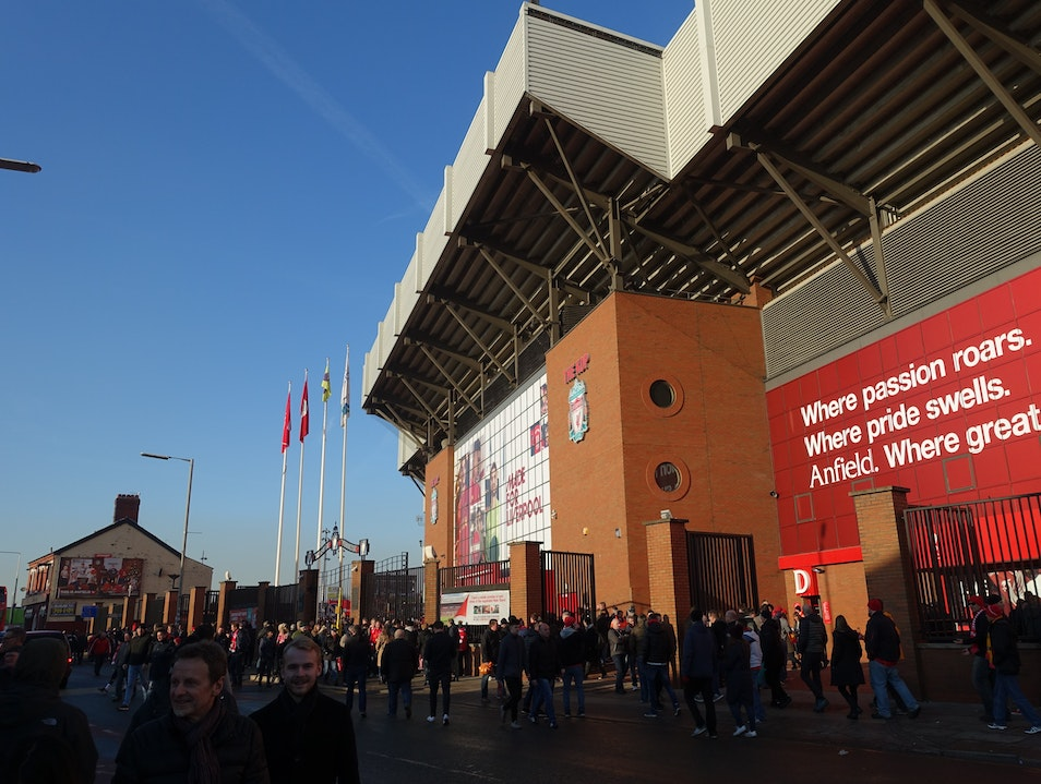 Hospitality Service at Anfield