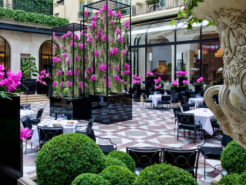 Fine Four Seasons Dining Paris  France