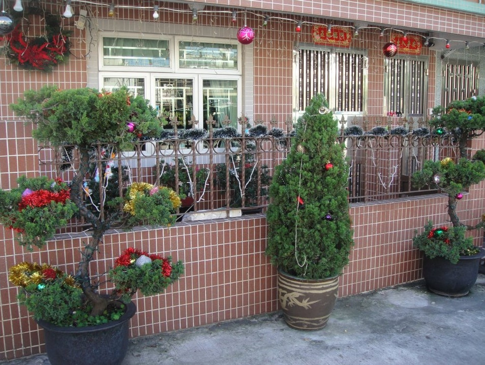 Christmas in a HK Village: East Meets West Ping Shan  Hong Kong