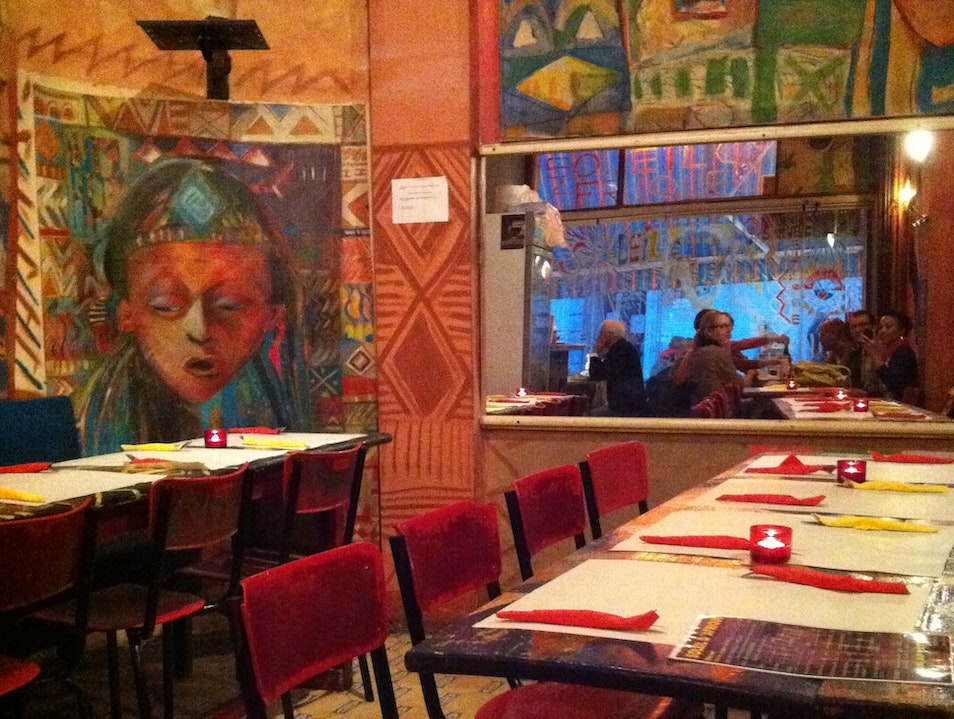 This is Brussels: Eating in Matonge at Soleil d'Afrique  Ixelles  Belgium