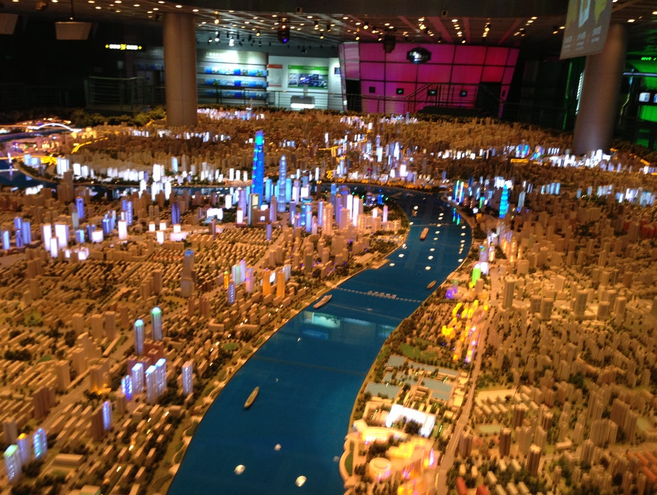 A Scale Model of Shanghai