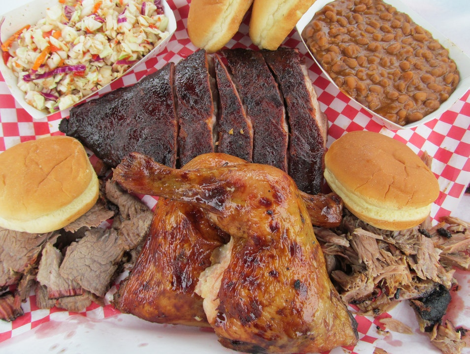 Mike's Four Start BBQ -- Mt Rainer of Meat Poulsbo Washington United States