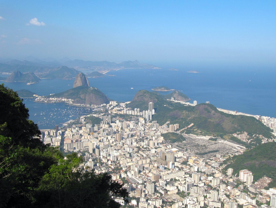 View from Corcovado mountain