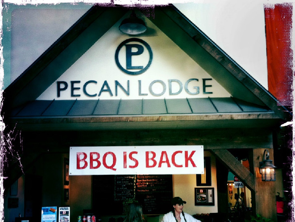 Eat Texas' Best BBQ at Pecan Lodge  Dallas Texas United States