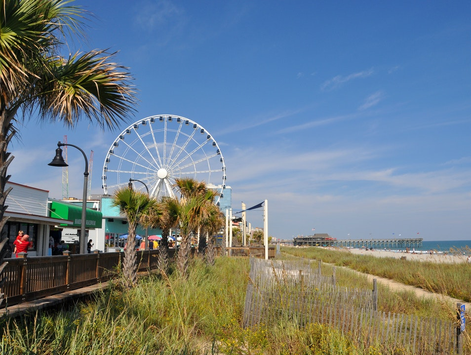 Myrtle Beach Boardwalk Myrtle Beach South Carolina United States