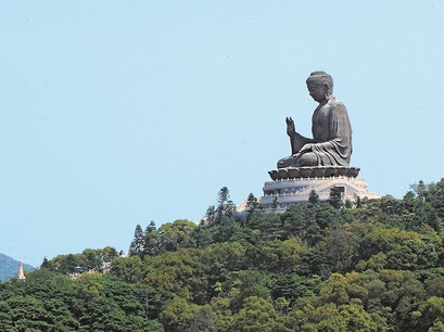 Big Buddha and Po Lin Monastery  Hong Kong  Hong Kong