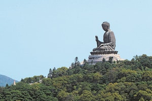 Big Buddha and Po Lin Monastery