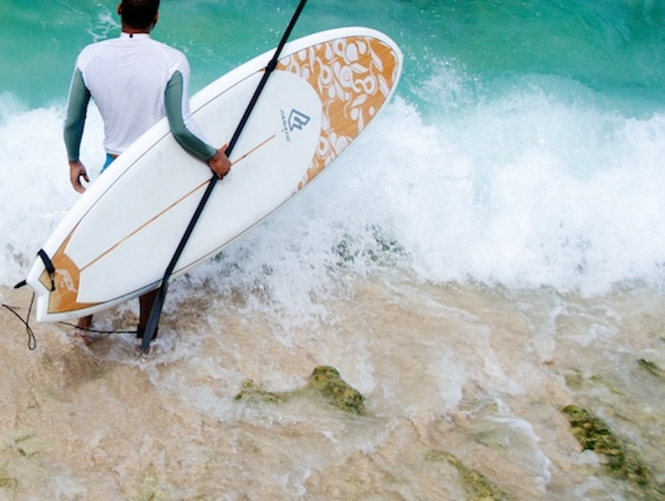 SUPin' (Stand Up Paddleboarding) Island Style Oistins  Barbados