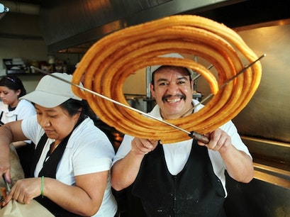 Churros El Convento Mexico City  Mexico