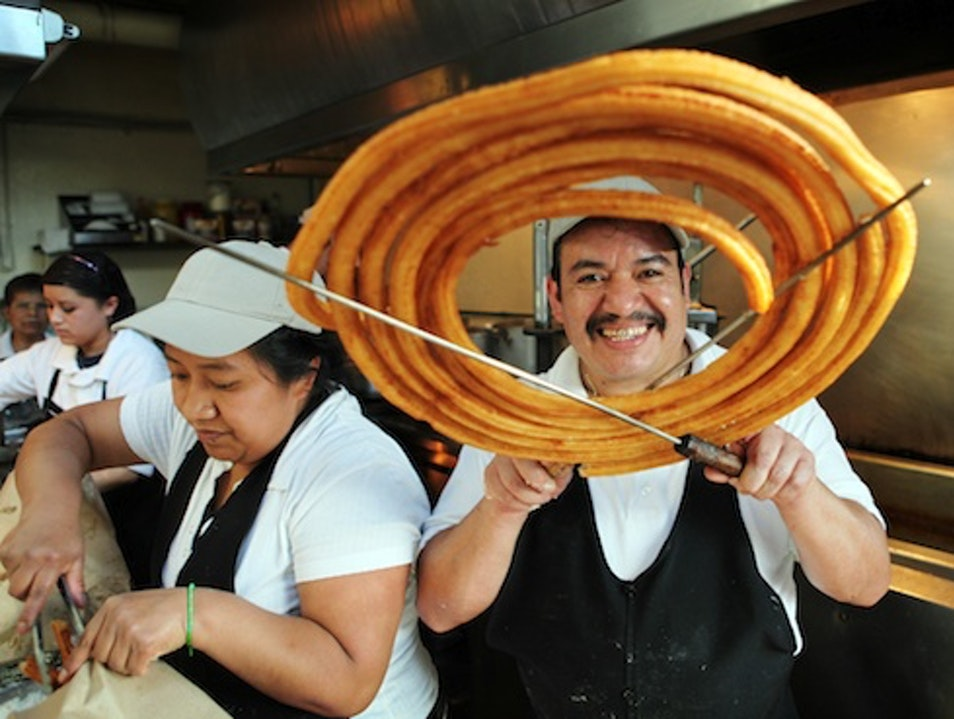 Churros el Convento, San Ángel, Mexico City
