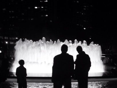 Lincoln Center's Revson Fountain New York New York United States