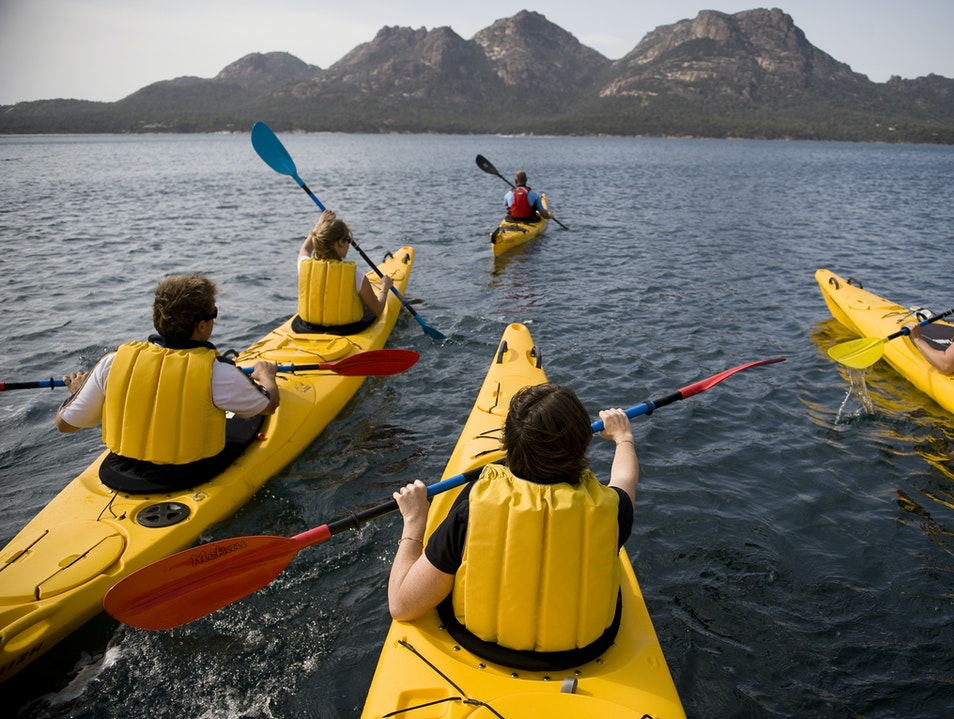 Work for it: Freycinet Adventures' Ultimate Weekender Freycinet  Australia