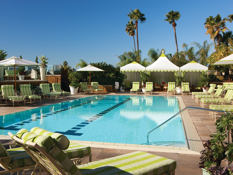 Recharge at the Four Seasons Hotel LA at Beverly Hills Los Angeles California United States