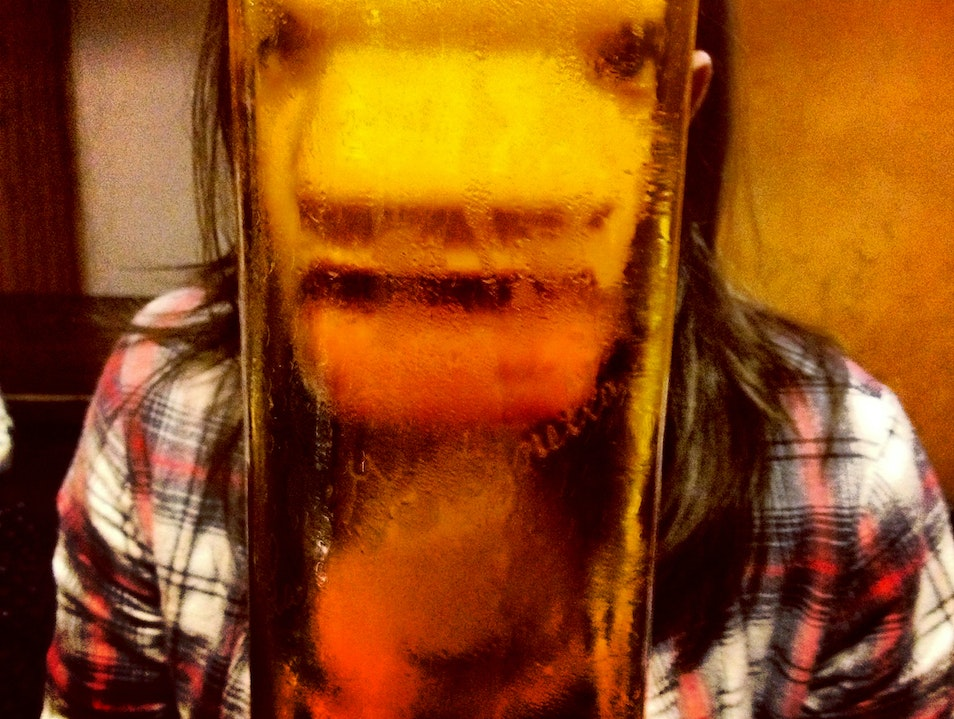 Beers as big as your head