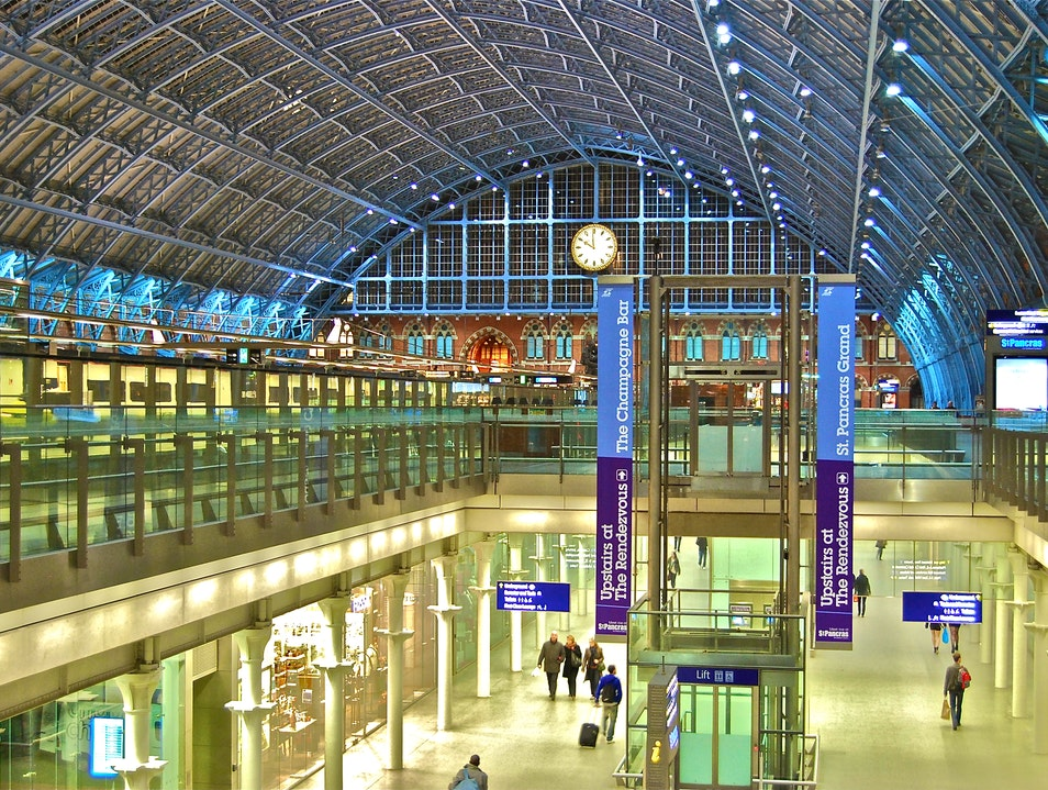 St. Pancras International London  United Kingdom