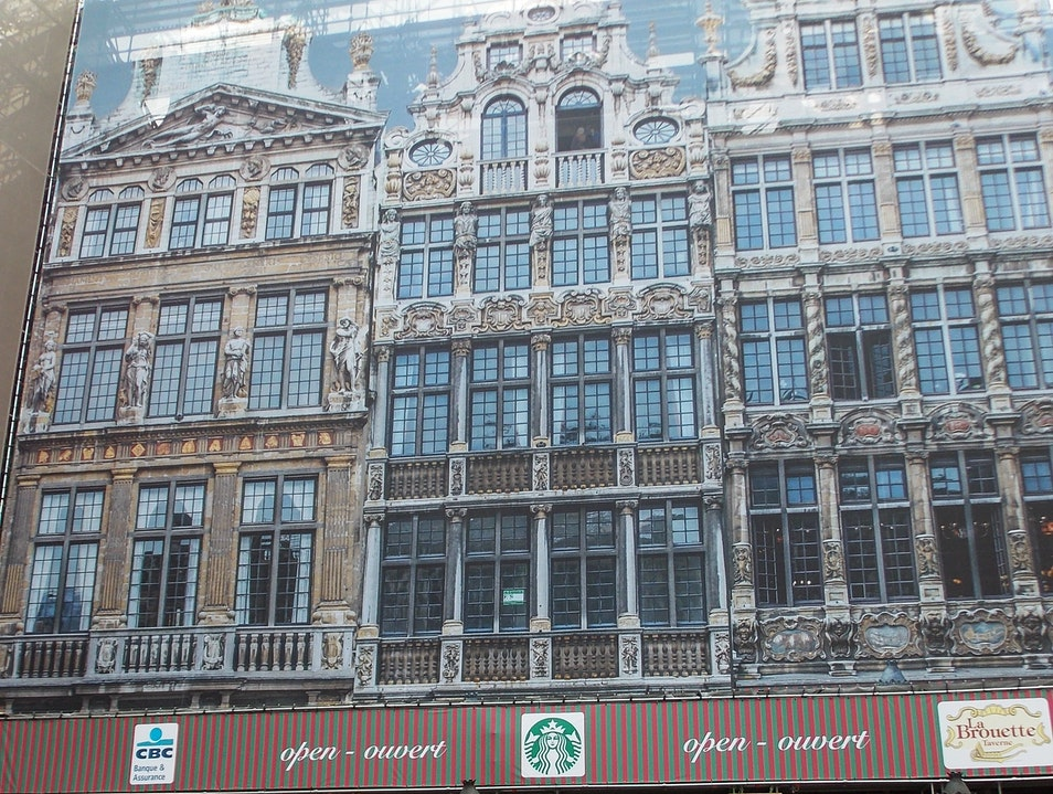 There's a new Starbucks in town Brussels  Belgium