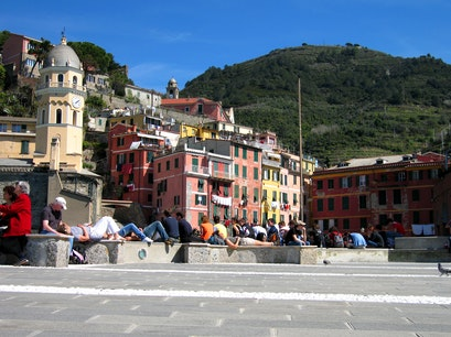 Vernazza Harbor Vernazza  Italy