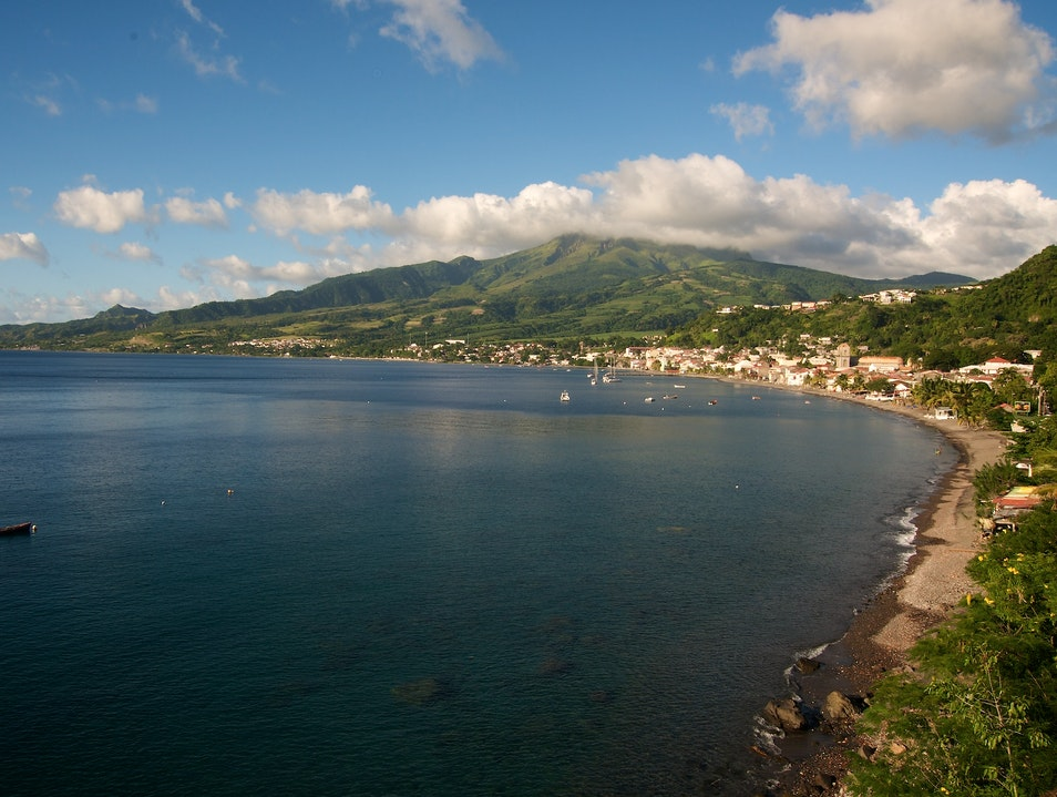 Look Back at the Little Pompeii of the Caribbean Arrondissement Of Saint Pierre  Martinique