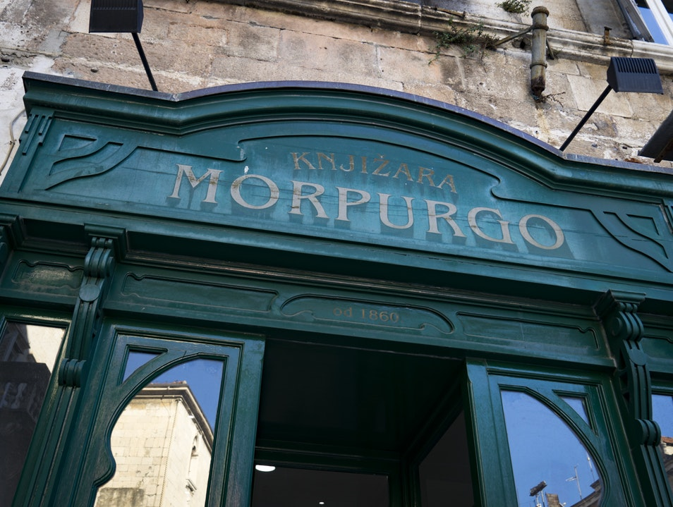 Morpurgo Bookstore  Split  Croatia