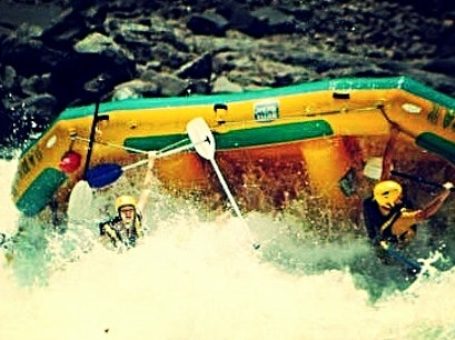 Rafting on the Zambezi River near Victoria Falls Victoria Falls  Zimbabwe
