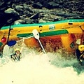 Rafting on the Zambezi River near Victoria Falls Hwange  Zimbabwe
