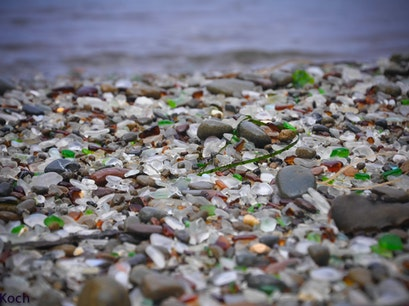 Glass Beach Fort Bragg California United States