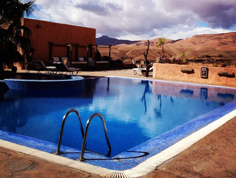 Pool with a View Boumalne Dades  Morocco