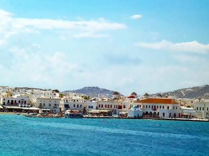 Mykonos City   Earth