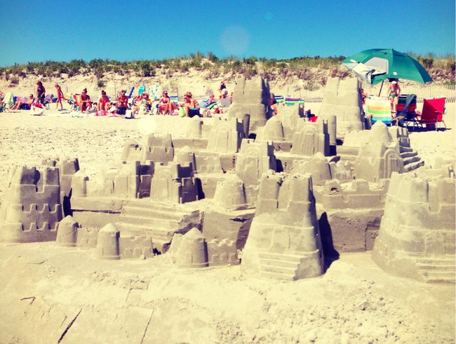 Game Of The Throne On The Beach? - Newport, RI