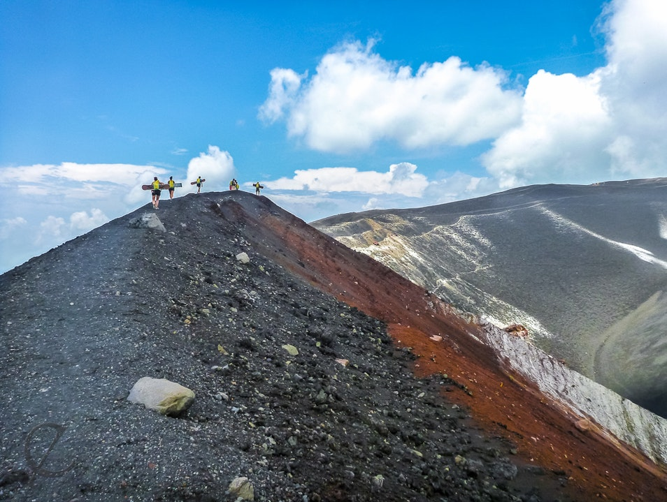 Boarding Down Central America's Youngest Volcano