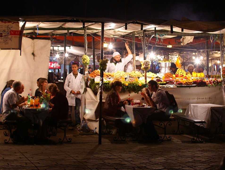 Street food in Marrakesh Marrakech  Morocco