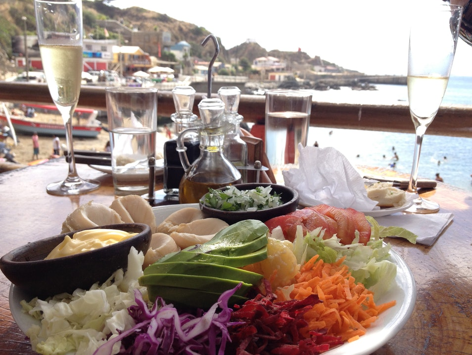 Oceanside Dining in Coastal Legend Zapallar  Chile