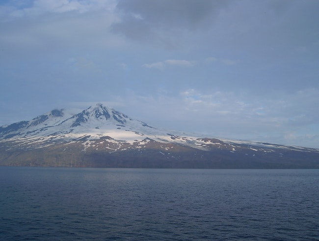 Passing island Jan Mayen