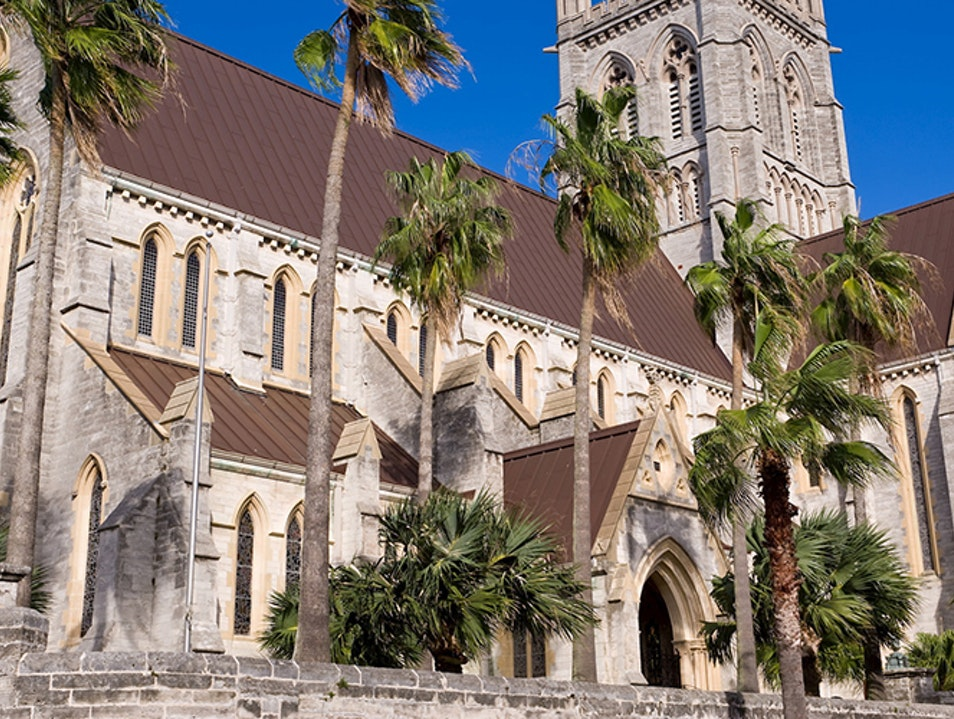 Cathedral of the Most Holy Trinity Hamilton  Bermuda
