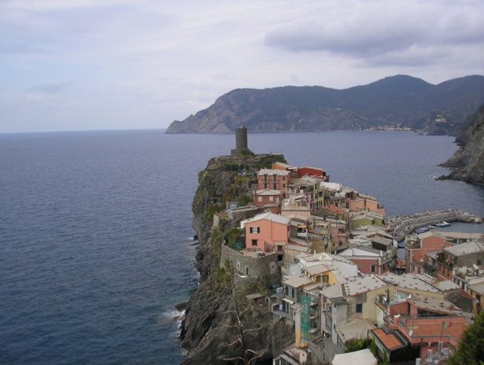 Fabulous villages on the Italian coast... Area Marina Protetta delle Cinque Terre  Italy