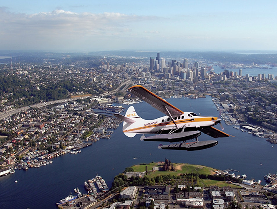 Scenic Seaplane Tour Seattle Washington United States