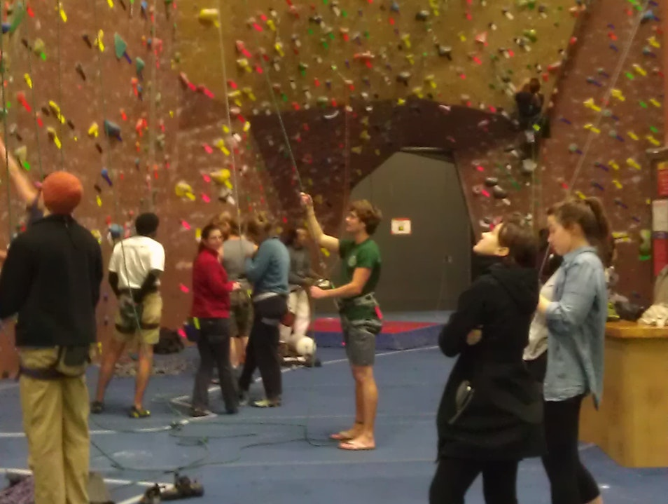 Re-Learning to Rock Climb in Sunnyvale