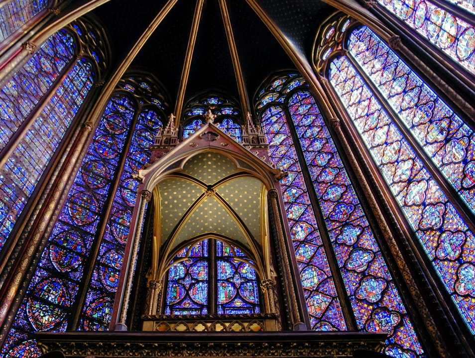 Saint-Chapelle Paris  France
