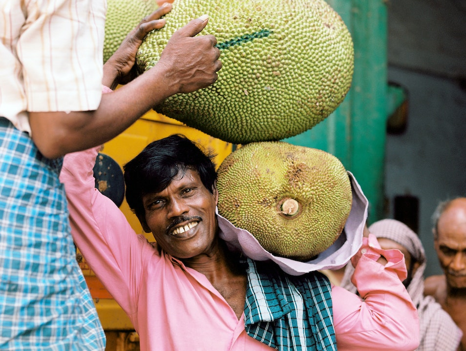 The Fruit that Jack built. Chennai  India