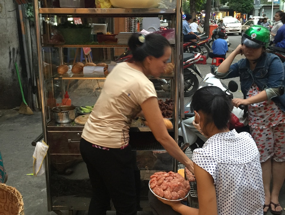 Fantastic Pork Patty Banh Mi Ho Chi Minh City  Vietnam