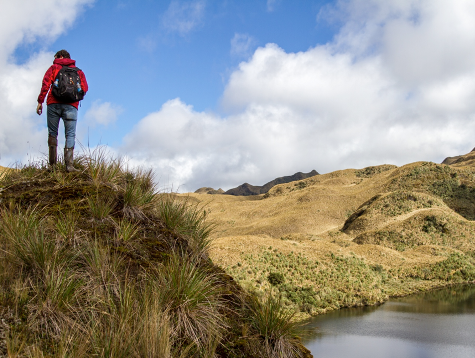 Trekking and Thermal Therapy Papallacta